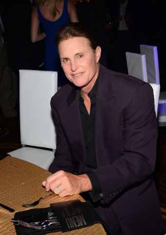 Bruce Jenner at Michael Jordan's golf and gala fundraiser in Las Vegas over the weekend. (Ethan Miller/Getty Images)