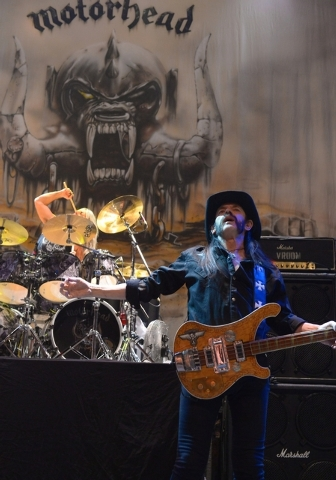 Motorhead performs at The Pearl at the Palms on April 17. (Bryan Steffy/Courtesy)