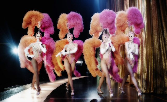 """Jubilee"" at Bally's is the last surviving example of the lavish feather show Las Vegas imported in the 1950s. (Denise Truscello/Courtesy)"