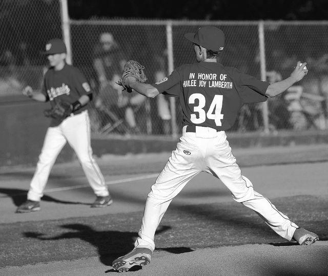 at the Arroyo Grande Sports Complex ballfields in Henderson on April 1, 2014. (Jason Bean/Las Vegas Review-Journal)