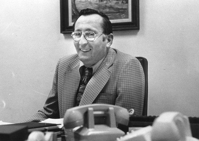 Assemblyman Joe Dini, D-Yerrington. Jan. 23, 1977 photo