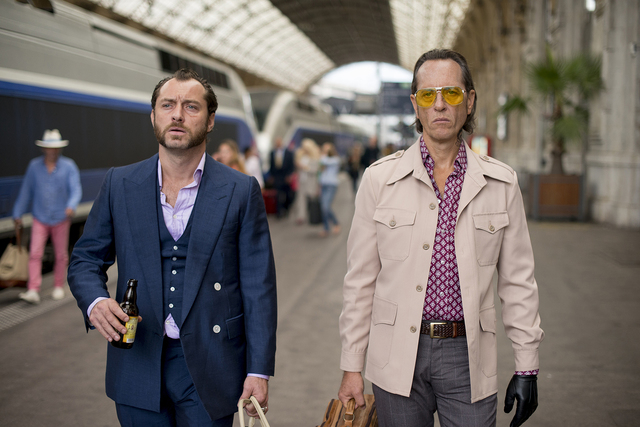 """Jude Law, left, and Richard E. Grant star in """"Dom Hemingway."""" (Fox Searchlight)"""