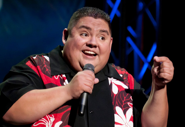 Gabriel Iglesias says Eddie Murphy was an inspiration, but he was disappointed when Murphy didn't return to stand-up. (AP Photo/South Beach Comedy Festival, Mitchell Zachs)