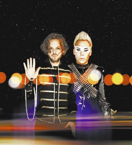 Empire of the Sun weaves its magical theatrics with an eye toward Cirque du Soleil. (COURTESY)