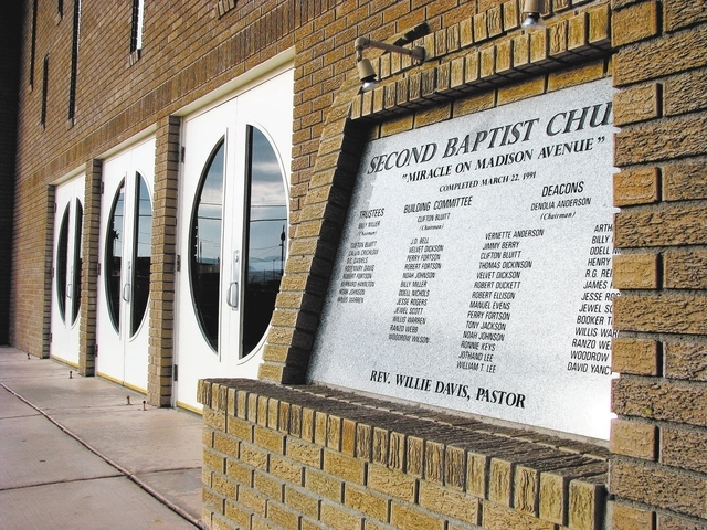 The Second Baptist Church, 500 W. Madison Ave., was dedicated in 1991 by pastor Willie Davis, namesake of Willie Davis Street namesake. (F. Andrew Taylor/View)