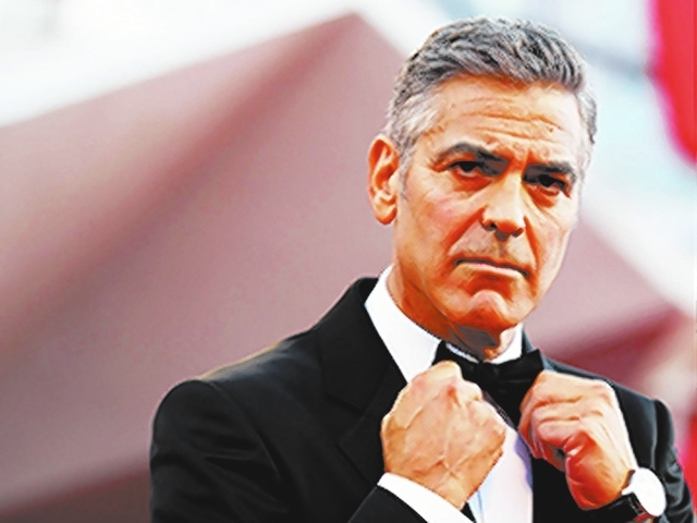 George Clooney. (File photo)