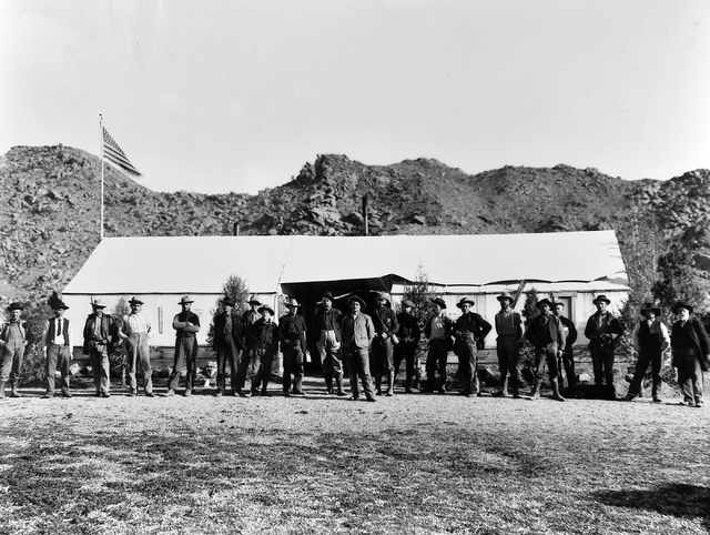 U.S. Post Office, Gold Butte, Nev. - circa 1907. (Used by permission, Utah State Historical Society, all rights reserved)