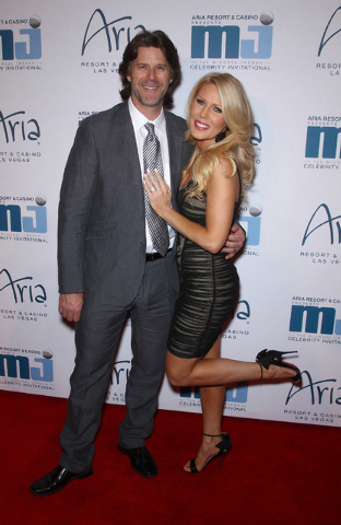 Gretchen Rossi with Slade Smiley. (Ethan Miller/Getty Images)