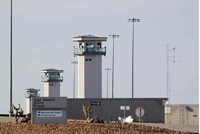 High Desert State Prison in Indian Springs (Photo courtesy FlickR)