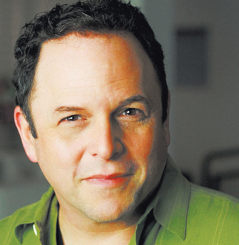 "Actor Jason Alexander again dons a hairpiece for ""An Evening with Jason Alexander and His Hair."" (Courtesy)"