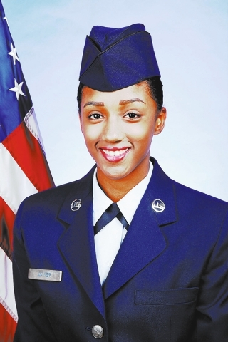 Air Force Airman Ariana M. Javier