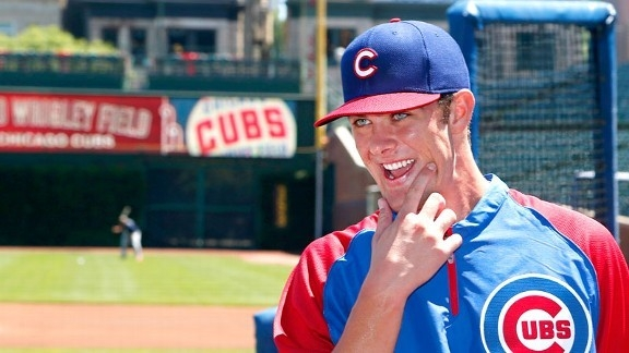Former Bonanza High and University of San Diego State standout Kris Bryant is leading the Double-A Tennessee Smokies is just about every offensive category so far. (SportsGlory.com)