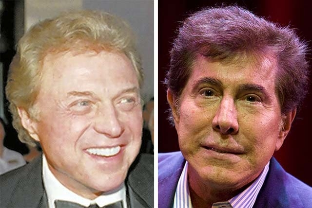 Steve Lawrence, left, and Steve Wynn are collaborating on a party as a tribute to Frank Sinatra, who would have turned 100 on Dec. 12, 2015. (Files, Las Vegas Review-Journal)