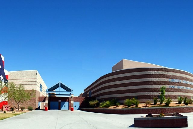 Clark County School District and Southern Nevada Health District officials hope to wrap up a first round of tuberculosis testing at Liberty High School on Tuesday. (Liberty High School/Facebook)
