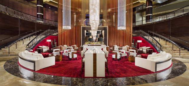 COURTESY OF STATION CASINOS  Proposed new lobby for Red Rock Resor