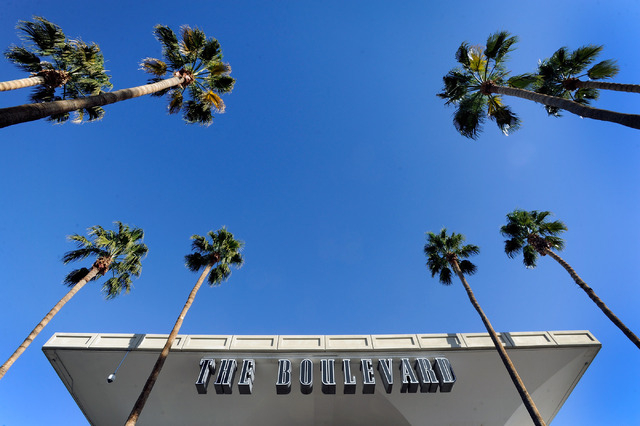 A general view is seen of the exterior at the Boulevard mall on Dec. 2. (David Becker/Las Vegas Review-Journal)