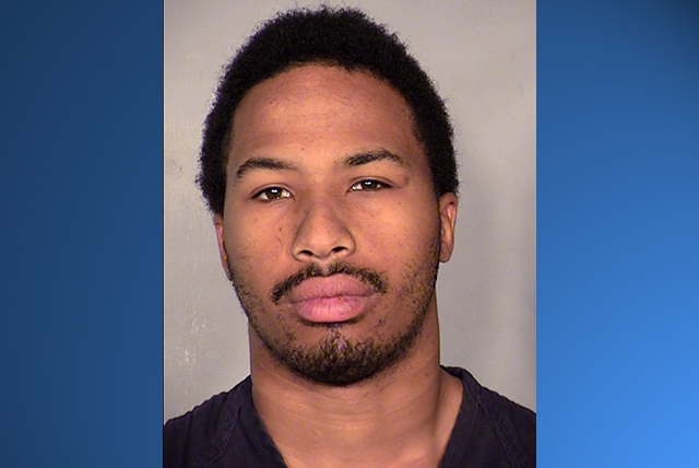 According to an arrest report released by the Clark County District Attorney's Office, Brandon McIver stabbed two men while they were inside their vehicles at the corner of Sahara Avenue and Nel ...