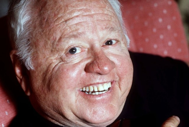 Entertainment legend Mickey Rooney is shown in this May 1987 photo. (AP Photo )