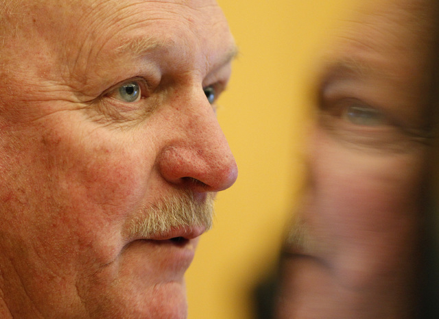 Clark County Commissioner Tom Collins apologized to his fellow commissioners Tuesday over some of his comments made during the Cliven Bundy standoff. Collins is shown here as he speaks on the More ...