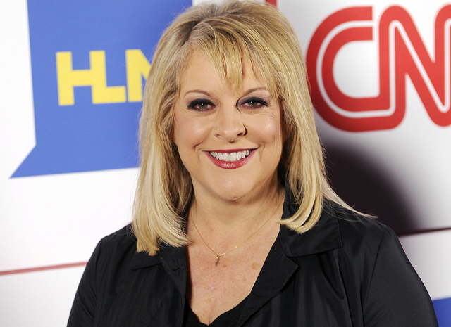 Nancy Grace of HLN poses at the CNN Worldwide All-Star Party on Jan. 10, 2014, in Pasadena, Calif. (Chris Pizzello/Invision/AP)