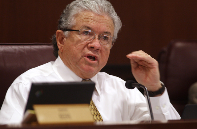 "Councilman Bob Coffin called the budget ""a conservative budget that accomplishes much of what we wanted, but not all."" (Review-Journal File Photo)"