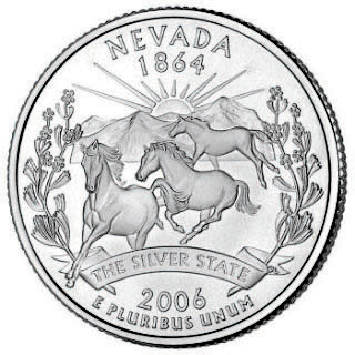 As the 36th state, Nevada's wild horse coin was minted in 2006.