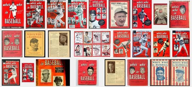"""""""Who's Who in Baseball"""" has been published for 99 years. It hasn't changed a whole lot."""