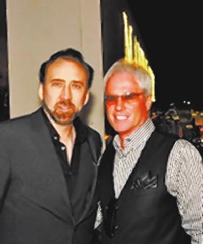 Nicolas Cage with LJ Harness (Courtesy)