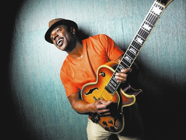 Reisig and Taylor photography Guitarist Norman Brown will join trumpeter Rick Braun and tenor saxophonist Kirk Whalum to perform as BWB at the City of Lights Festival.