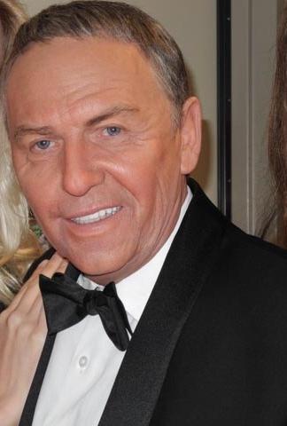Bob Anderson hired makeup artist Kazuhiro Tsuji to make him look like Frank Sinatra for a showcase in May at The Venetian. (Courtesy)