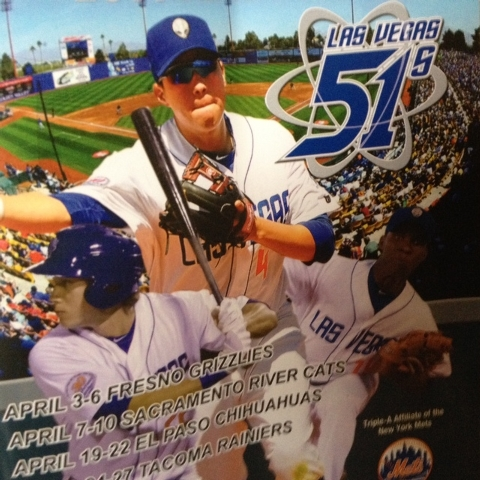 This season's souvenir Las Vegas 51s program is 100 pages large. It is still free, and it makes a thud when it falls out of your pocket.