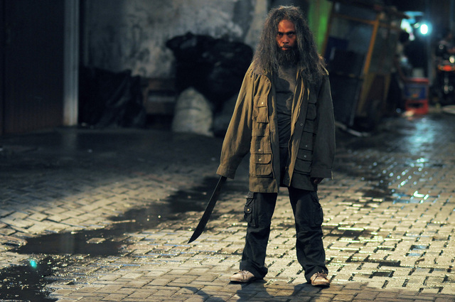 "Yayan Ruhian stars as Prakoso in ""The Raid 2."" (Akhirwan Nurhaidir and Gumilar Triyoga/Sony Pictures Classics)"