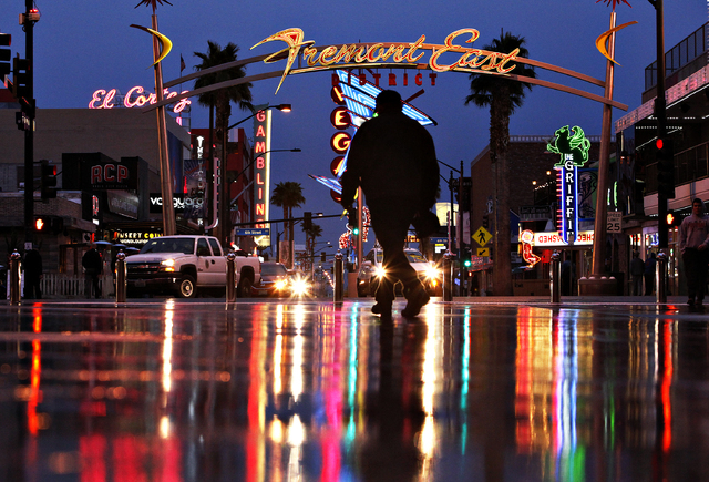 Some 33 taverns and urban lounges with slots in downtown's East Fremont District and Arts District received a total of $750,000 in breaks over the past four years. (John Locher/Las Vegas Review- ...