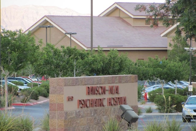The Rawson-Neal Psychiatric Hospital is shown in file photo. (Greg Haas/Las Vegas Review-Journal)