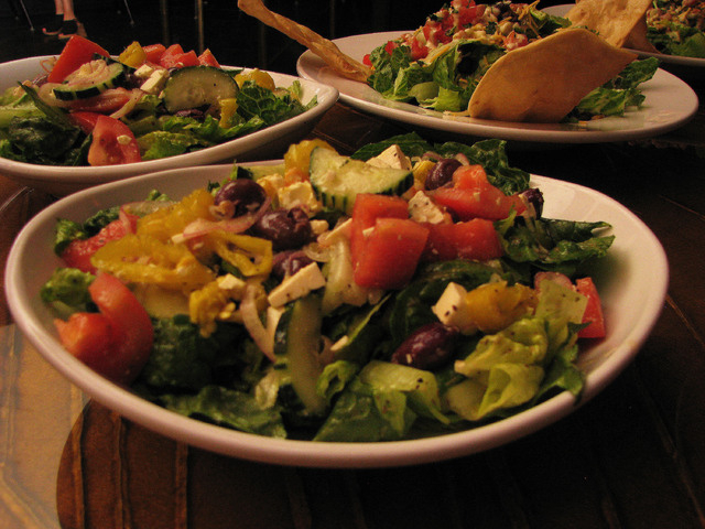Sierra Gold recently introduced new menu items including a variety of salad options. (F. Andrew Taylor/View)