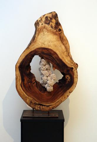 """Desert Rose,"" a sculpture made by Dorit Schwartz, is shown March 10 in her home. (Ronda Churchill/View)"
