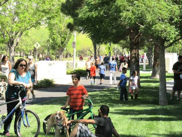 Residents take to the streets for Henderson Stroll 'n Roll  April 12.