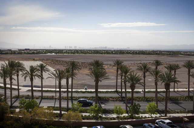 The Howard Hughes Corp. announced plans Wednesday, April 23, 2014, for the first multifamily residential development on 4.5 acres near the Shops at Summerlin. A 124-unit, gated luxury apartment co ...