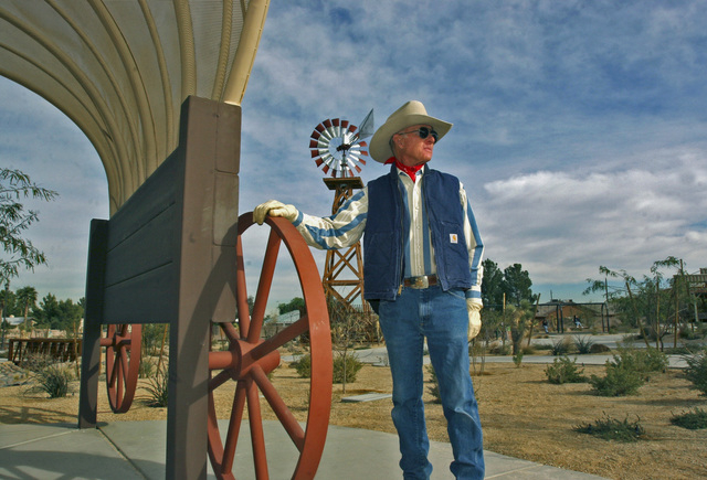 Don Bamberry poses at the Western Trails Horse Park on Friday, Dec. 30, 2005. Bamberry has been recognized by the Clark County Board of Commissioners for the creation park. (Shelly Donahue/View ne ...