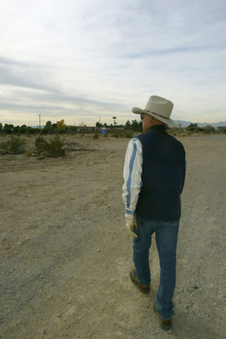 Don Bamberry tours the Western Trails Horse Park on Friday, Dec. 30, 2005. Bamberry has been recognized by the Clark County Board of Commissioners for the creation park. (Shelly Donahue/View newsp ...