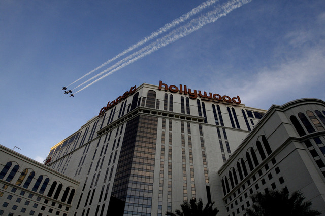 Southern Nevada officials say at least 200 people in the Las Vegas-area caught a recent stomach bug, and are looking into a possible outbreak after Planet Hollywood Resort and Casino reported atte ...
