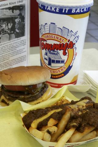 Tommy's Original Hamburgers is at 7070 W. Craig Road. (View file photo)