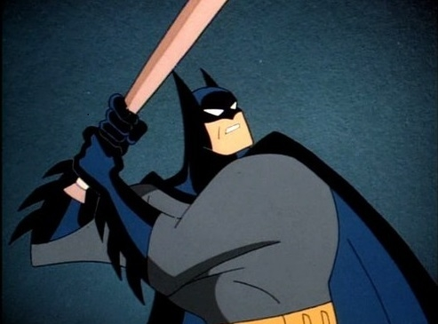 Batman would be a tough out and probably would hit third or cleanup in anybody's batting order.