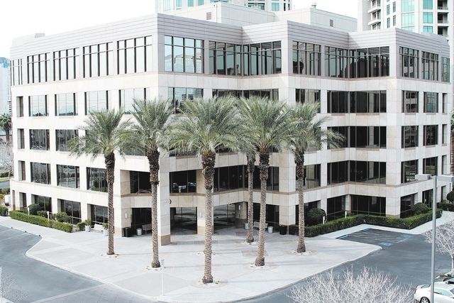 The Pinnacle's corporate headquarters at the Howard Hughes Center is seen here. (Courtesy)