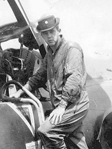 Maj. John O'Grady was shot down over Vietnam in 1967 and disappeared. (Photo Courtesy of John O'Grady's family)