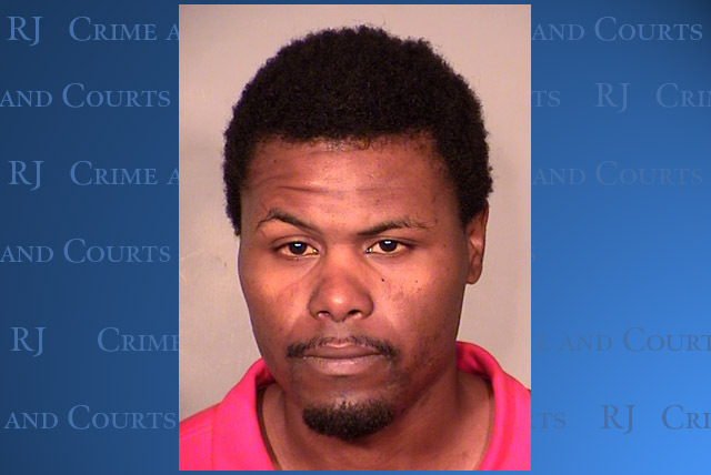 Jonathan Thyron Thompson, 30, was arrested Monday after Las Vegas police say he had been contacting a juvenile female through social media with the intent of persuading her to have sex with him. ( ...