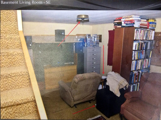 In this undated photo released by Morrison County Attorney's Office, the basement of Minnesota homeowner Byron Smith where Smith shot and killed two teenagers during a break-in is seen. Smith was  ...