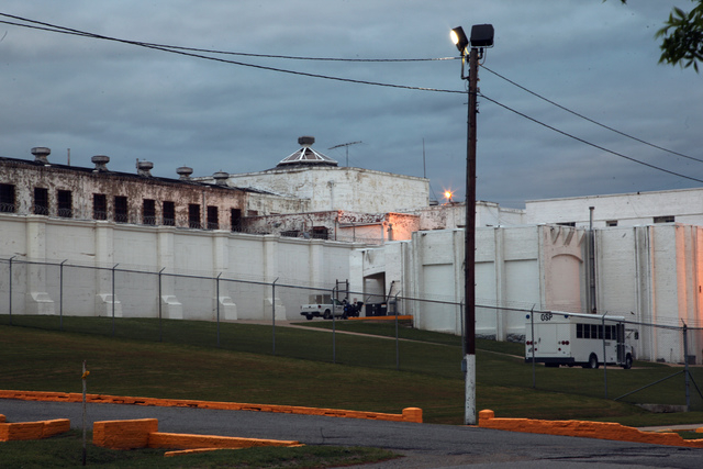 This April 29, 2014 photo shows the Oklahoma State Penitentiary in McAlester, Okla. after Robert Patton stopped the execution of Clayton Lockett. Lockett died 43 minutes after his execution began  ...