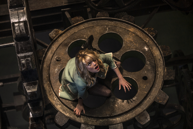 """This image released by Sony Pictures shows Emma Stone in the film, """"The Amazing Spider-Man 2."""" (AP Photo/Columbia Pictures - Sony Pictures)"""