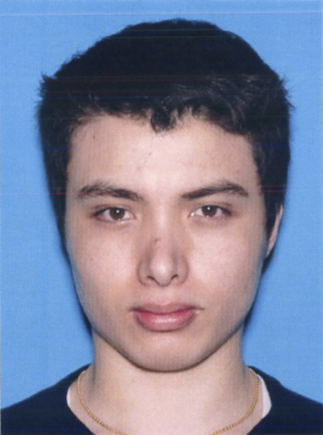 This undated photo from the California Department of Motor Vehicles shows the driver license photo of Elliott Rodger. Rodger, 22, went on a murderous rampage Friday, May 23, 2014, killing six befo ...
